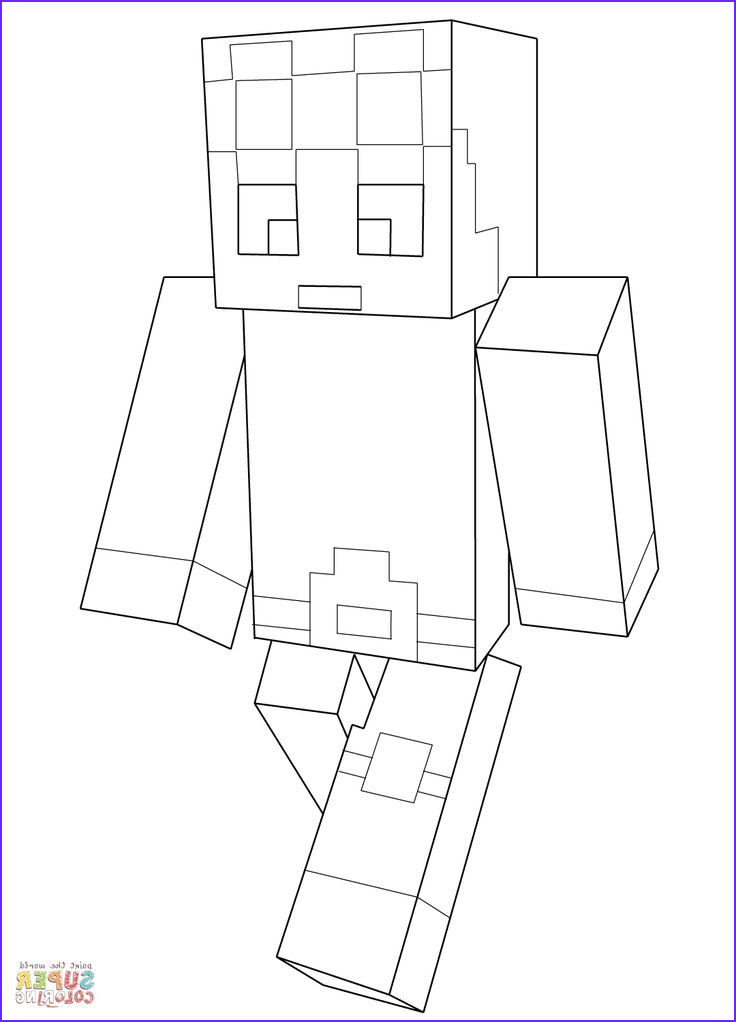 Printable Coloring Page Minecraft Awesome Photos Minecraft Dantdm Super Coloring Jake Fun