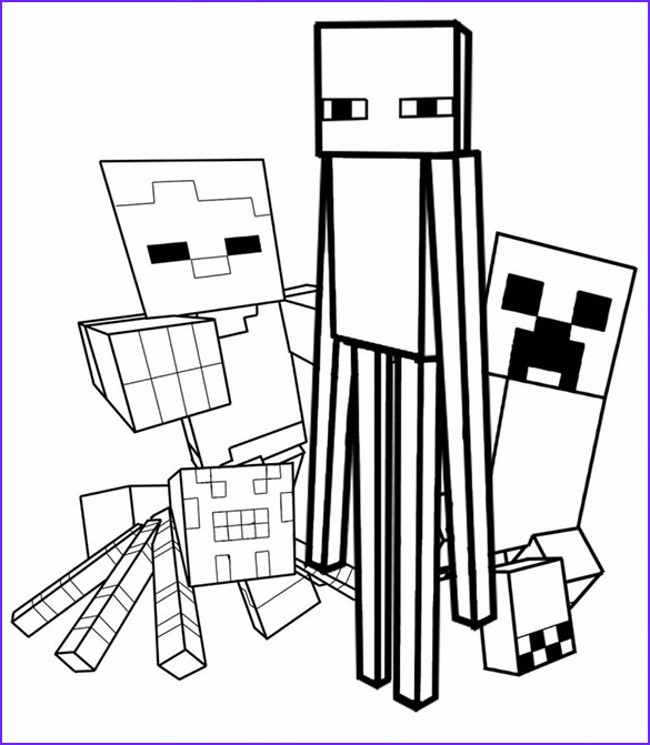 Printable Coloring Page Minecraft Beautiful Photos 16 Minecraft Coloring Pages Pdf Psd Png