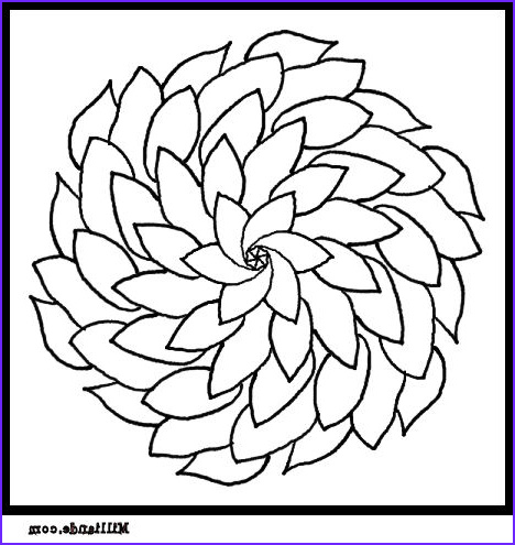 flower coloring free printable coloring