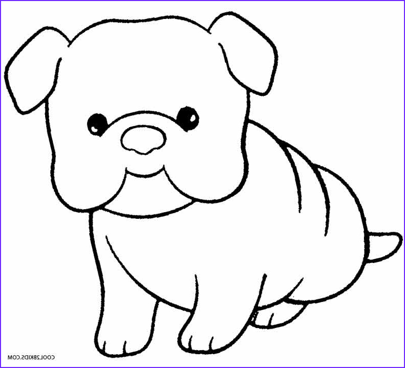 Puppies Coloring Picture Awesome Photography Printable Puppy Coloring Pages for Kids