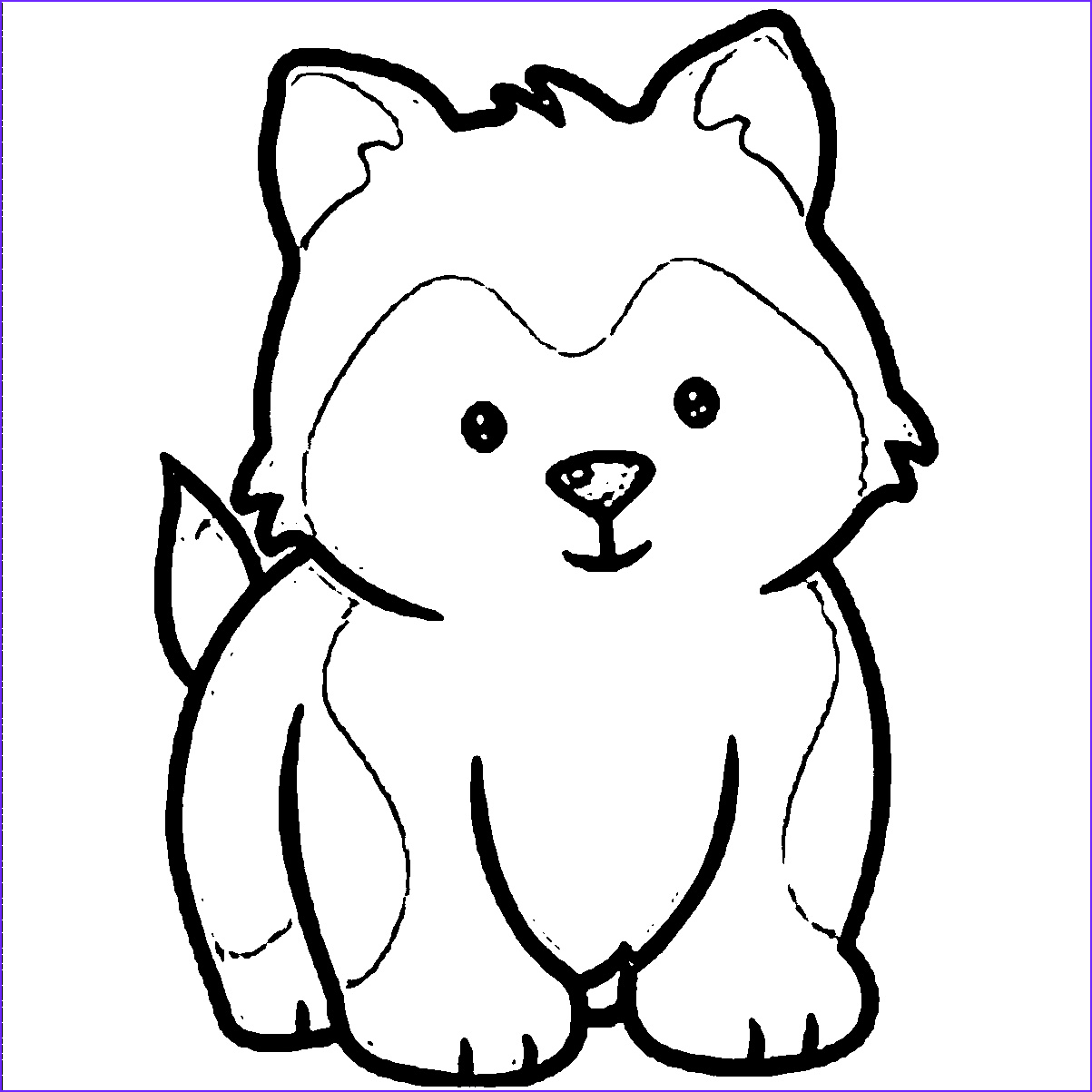 Puppies Coloring Picture Beautiful Photos Husky Puppies Coloring Pages Download Coloring for Kids 2019