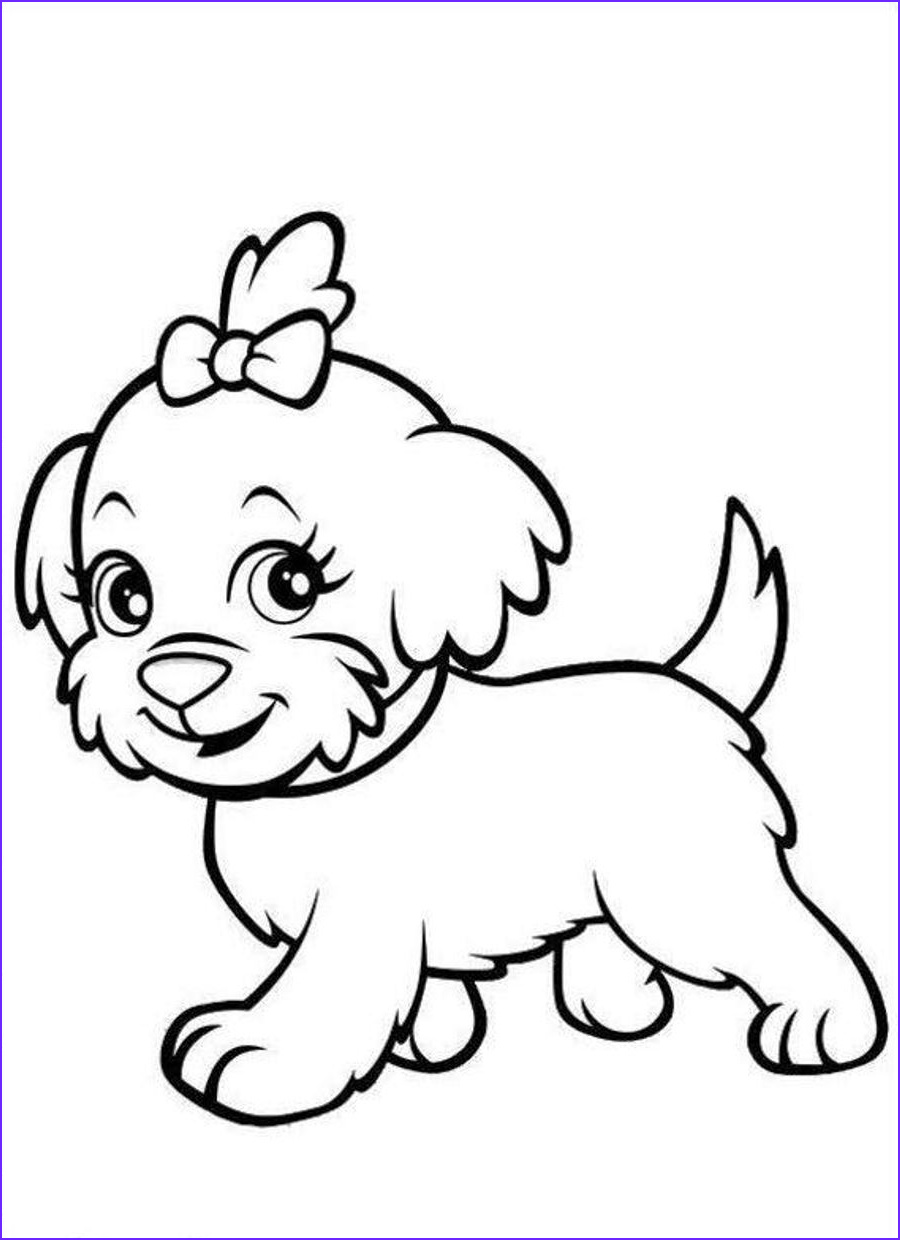 Puppies Coloring Picture New Gallery Puppy Coloring Pages Best Coloring Pages for Kids