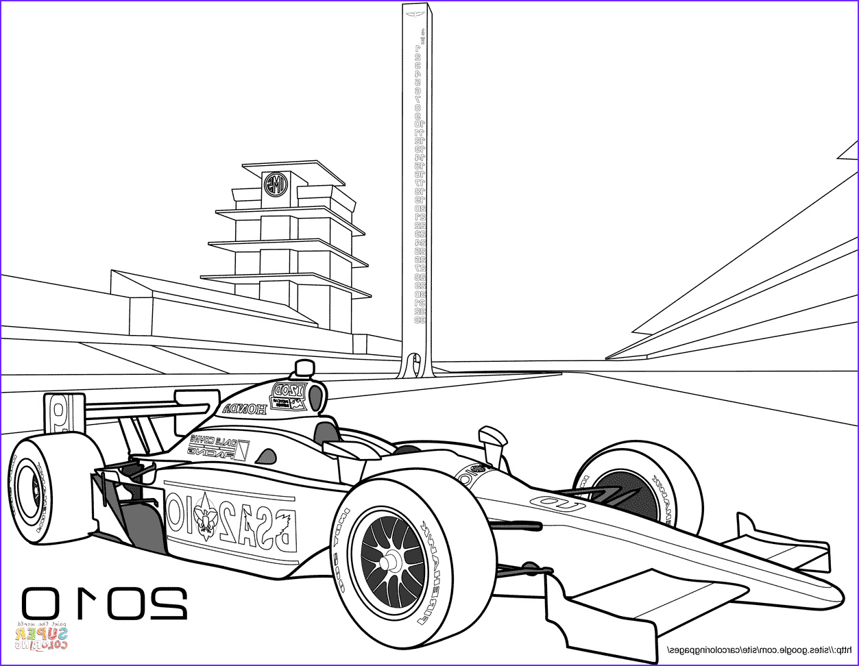 Race Car Coloring Picture New Photos Indy Race Car Coloring Page
