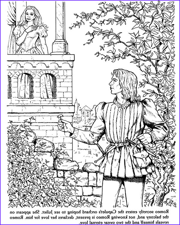 Romeo and Juliet Coloring Page Best Of Stock 17 Best Images About Coloring Pages Lineart Fantasy On