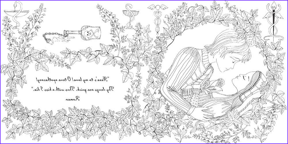 romeo and juliet coloring