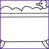rubber ducky in bathtub coloring page