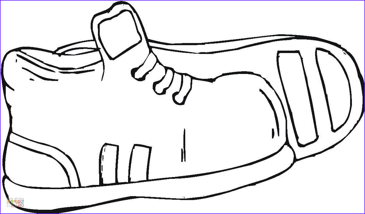 Running Shoe Coloring Page Luxury Photos Running Shoe Coloring Page Clipart Best