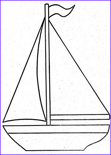 sailboat coloring pages for kids sailling ship coloring