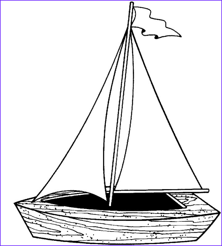 Sailboat Coloring Page New Images My Pursuit Of August 2007