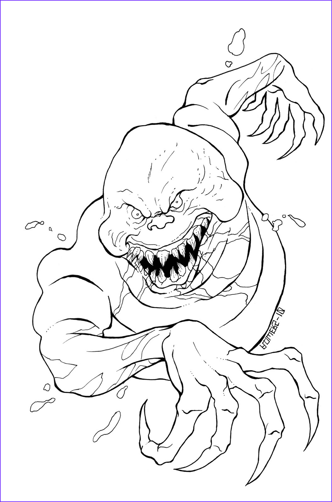Scarey Coloring Page Beautiful Image Scary Coloring Pages Best Coloring Pages for Kids