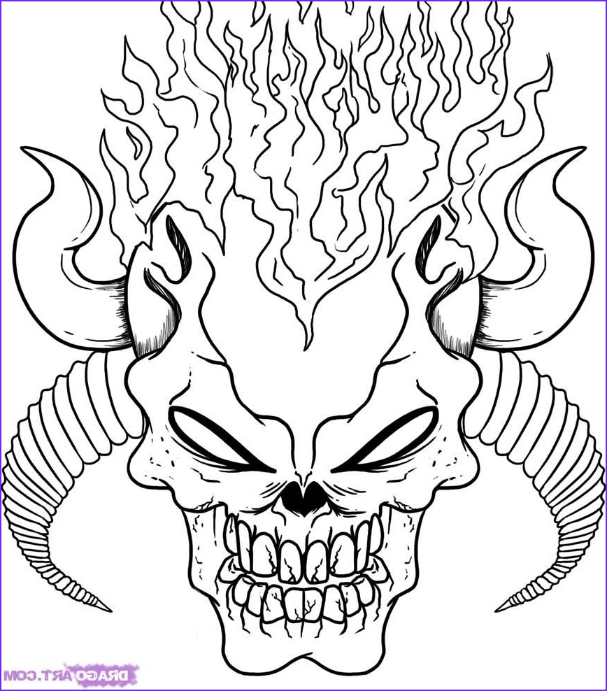 Scarey Coloring Page Best Of Stock Scary Coloring Pages for Adults