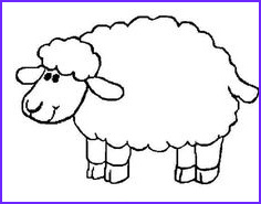 Sheep Coloring Sheet Awesome Photos 121 Best Preschoolers Images In 2019