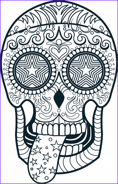 Skull Adult Coloring Page Beautiful Photos Pin On Coloring Pack 4