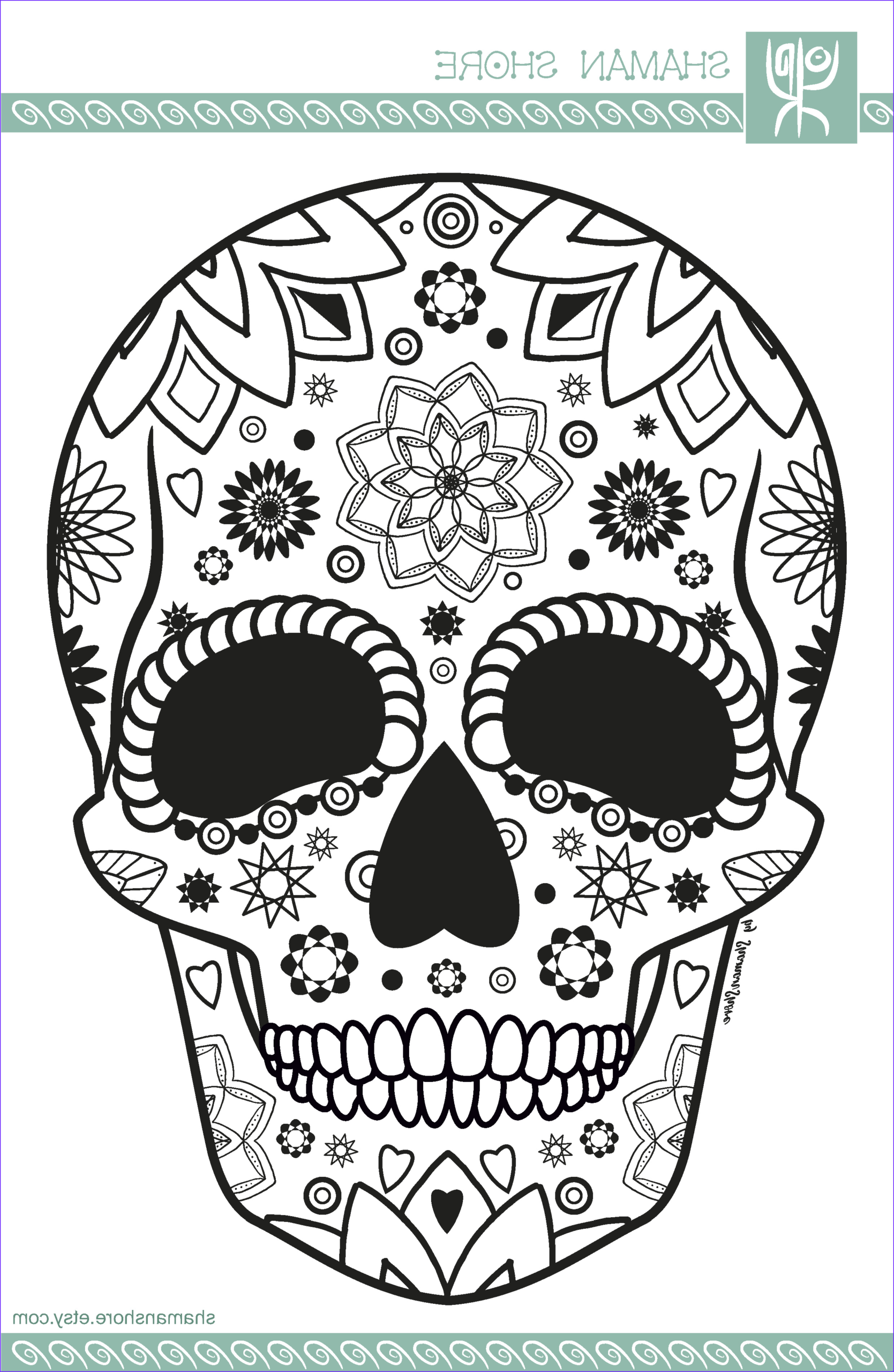 Skull Adult Coloring Page Best Of Photography Skull Adult Coloring Book Pdf 15 Sugar Skull Adult