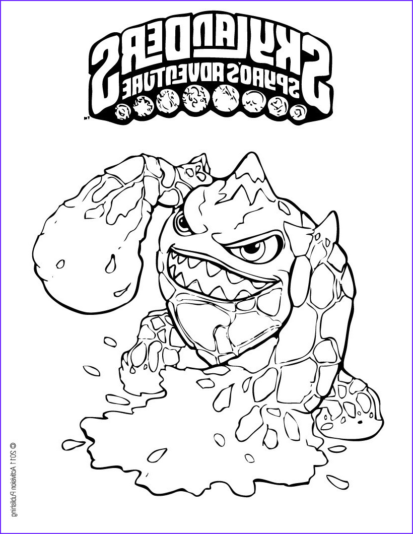 Skylanders Coloring Picture Awesome Images Printable Skylanders Coloring Pages