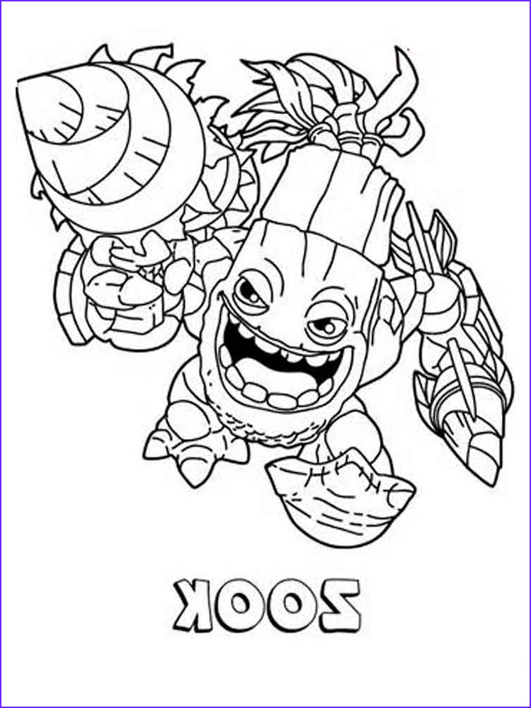 Skylanders Coloring Picture Inspirational Photos Skylander Gaints Free Colouring Pages