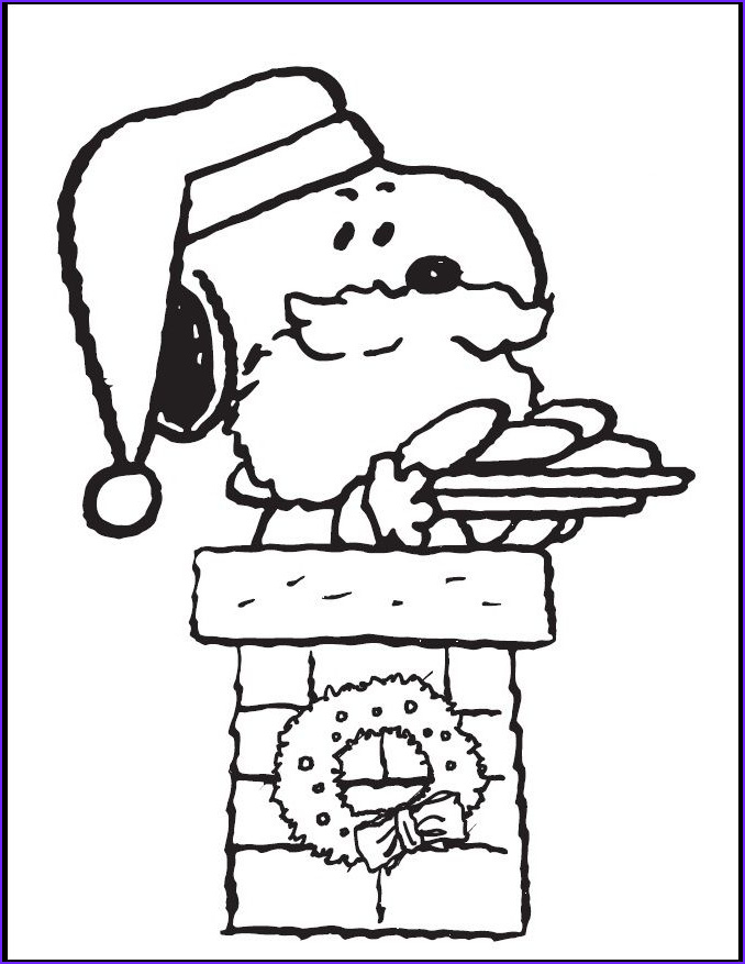 snoopy christmas lights pages sketch templates