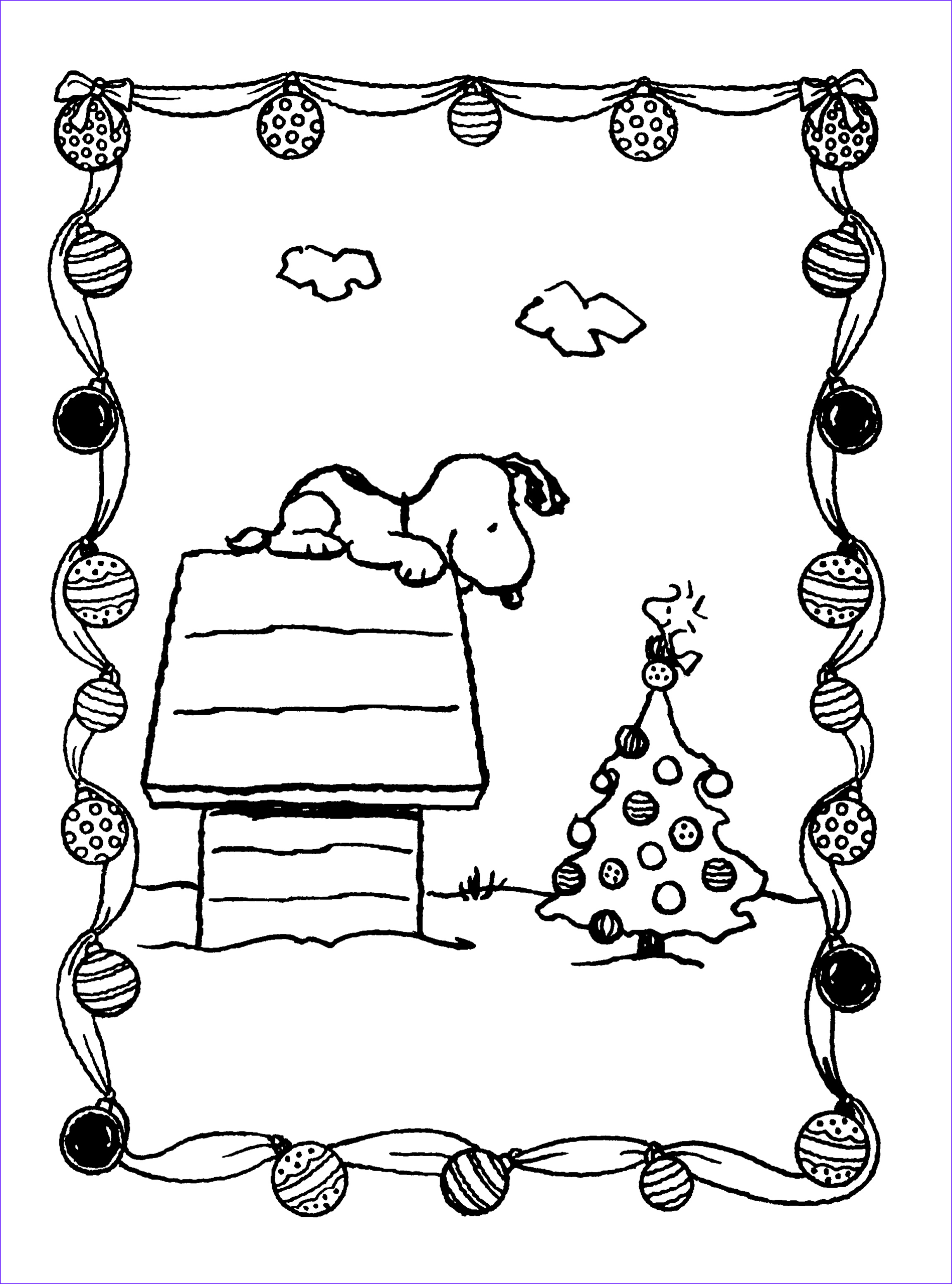 Snoopy Christmas Coloring Page New Photos Peanuts Xmas Coloring And Activity Book