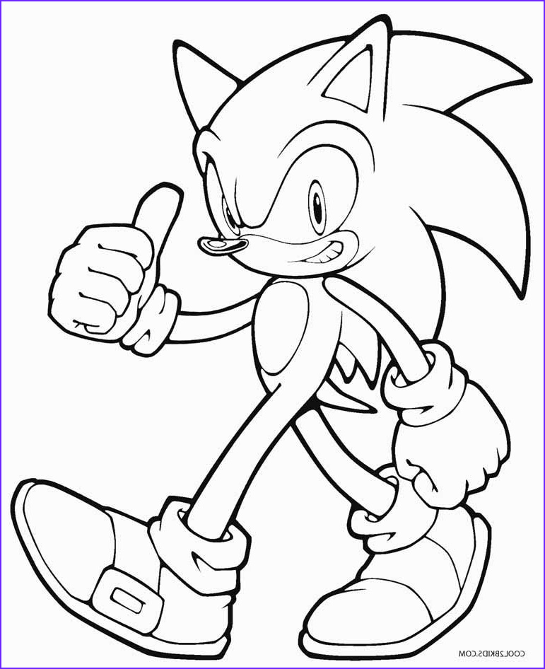 Sonic Hedgehog Coloring Page Luxury Image sonic the Hedgehog Coloring Pages