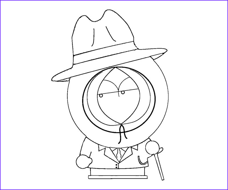 south park coloring pages