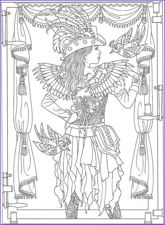 Steampunk Coloring Page for Adults Best Of Gallery 38 Best Steampunk Color Pages Images On Pinterest