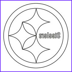 Steeler Logo Coloring Page Inspirational Photography Pittsburgh Steelers Logo Coloring Page From Nfl Category
