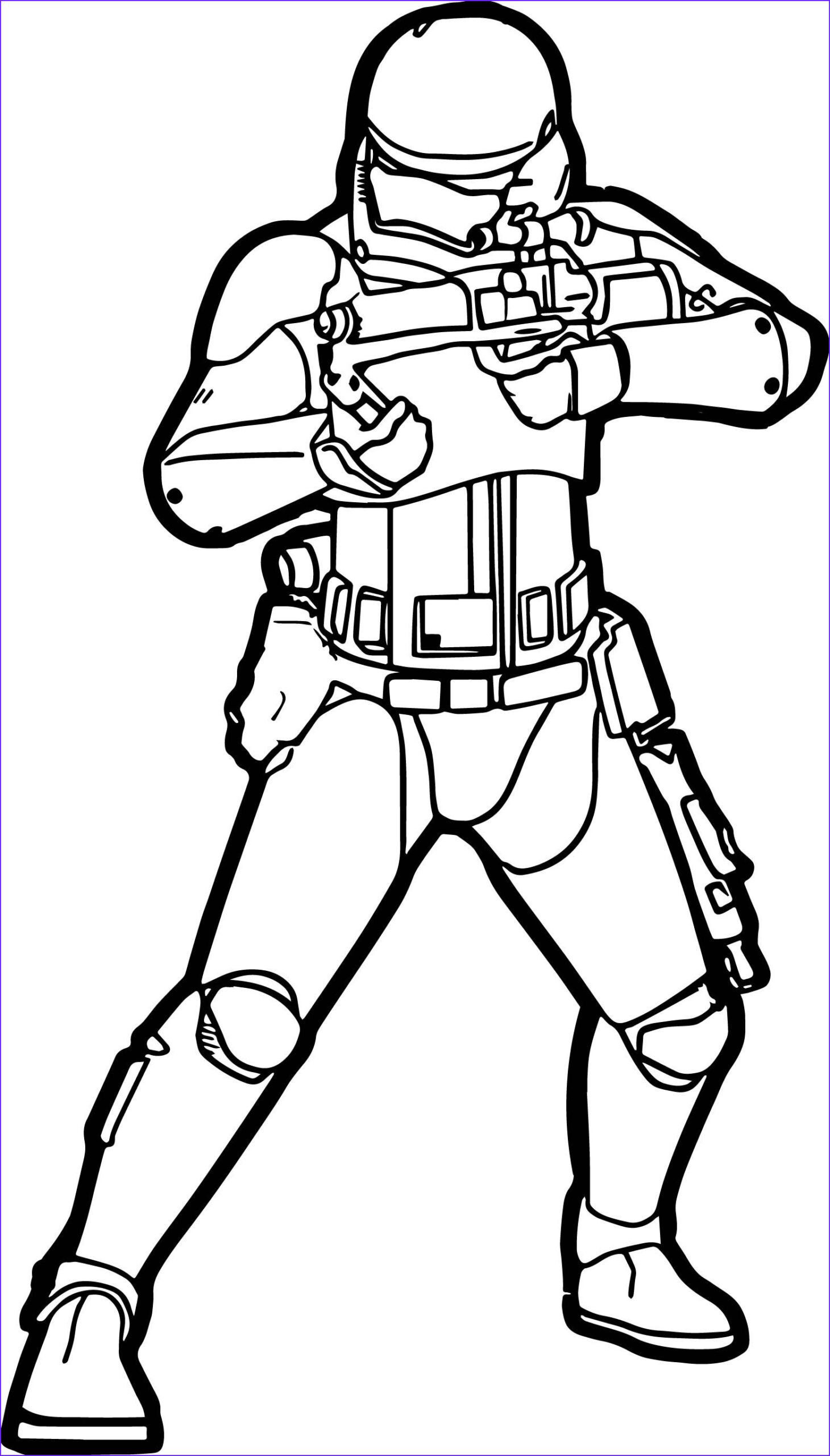 Stormtrooper Coloring Page Cool Photos Cool Star Wars The Force Awakens Stormtrooper Coloring