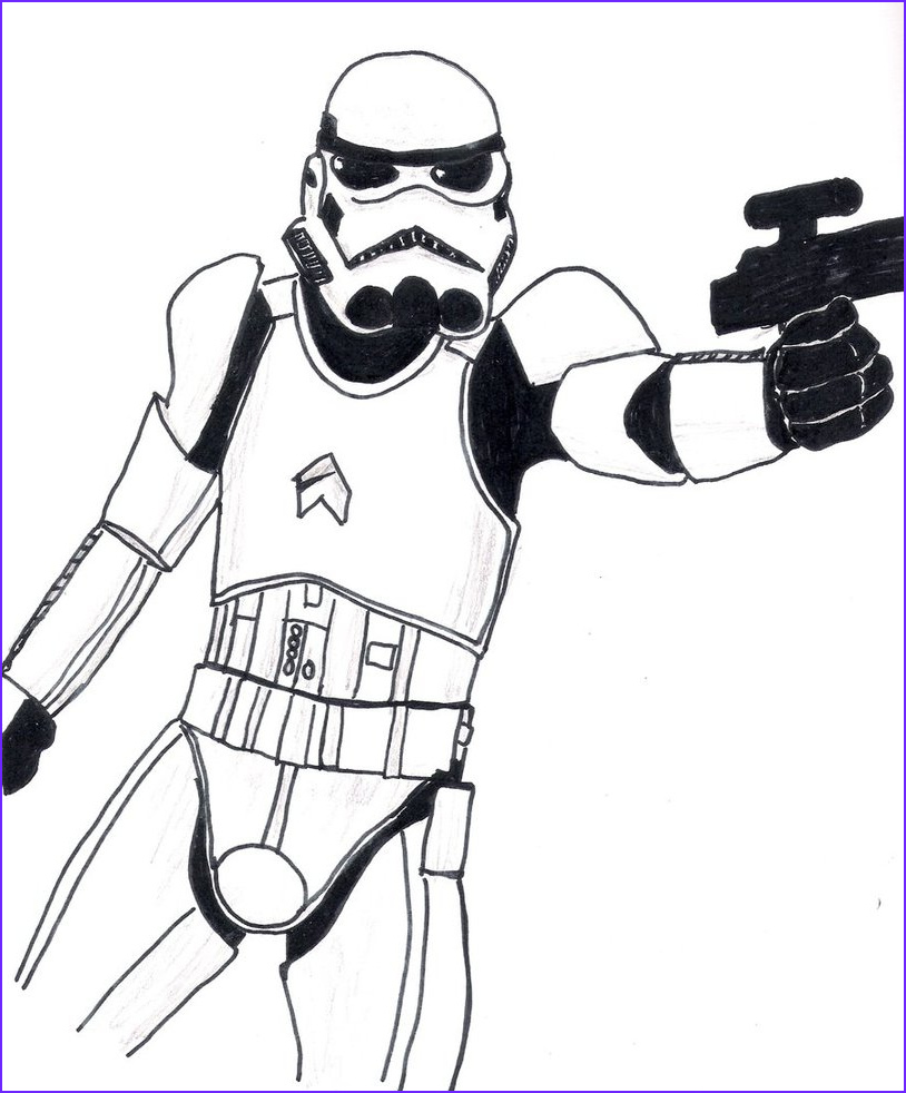 Stormtrooper Coloring Page New Images Stormtrooper By Listy On Deviantart