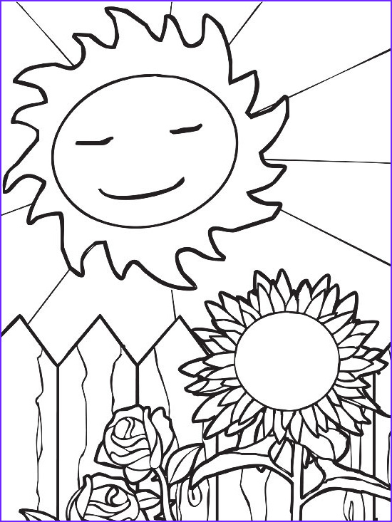 Summer Coloring Page Printable Beautiful Photography Printable Summer Coloring Pages