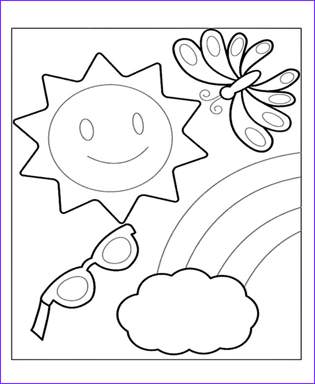 Summer Coloring Page Printable Beautiful Photography Summer Coloring Pages