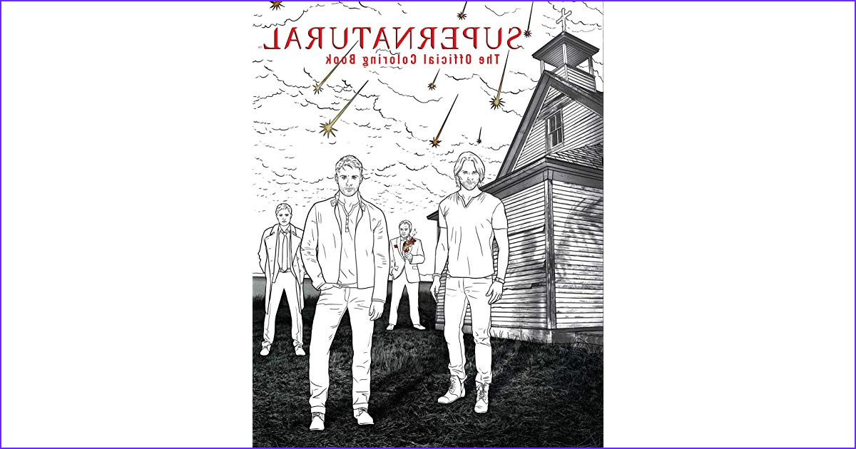 Supernatural the Official Coloring Book Beautiful Photos Supernatural the Ficial Coloring Book by Not A Book