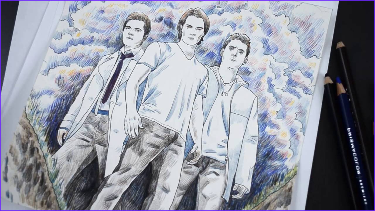 Supernatural the Official Coloring Book Cool Images Supernatural the Ficial Coloring Book