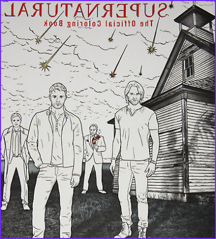 nationalcoloringbookday supernatural via stacyamiller85 cw spn spn adult coloring books