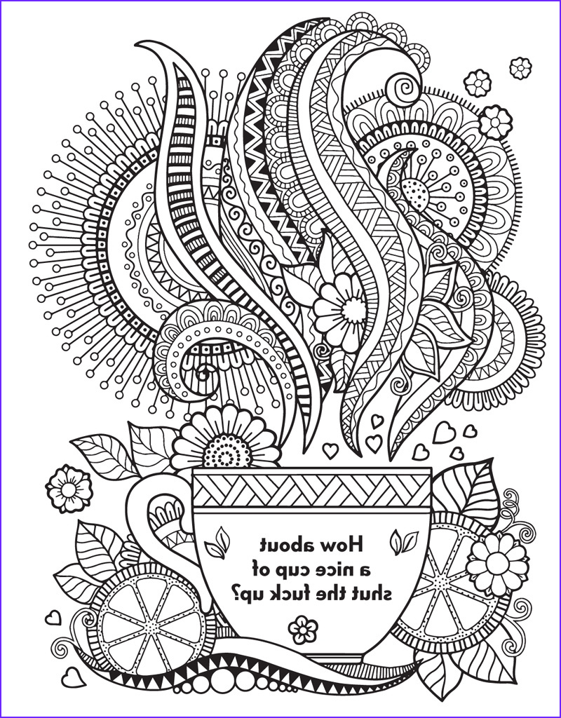 Swear Coloring Book Awesome Stock the Swear Word Coloring Book Hannah Caner