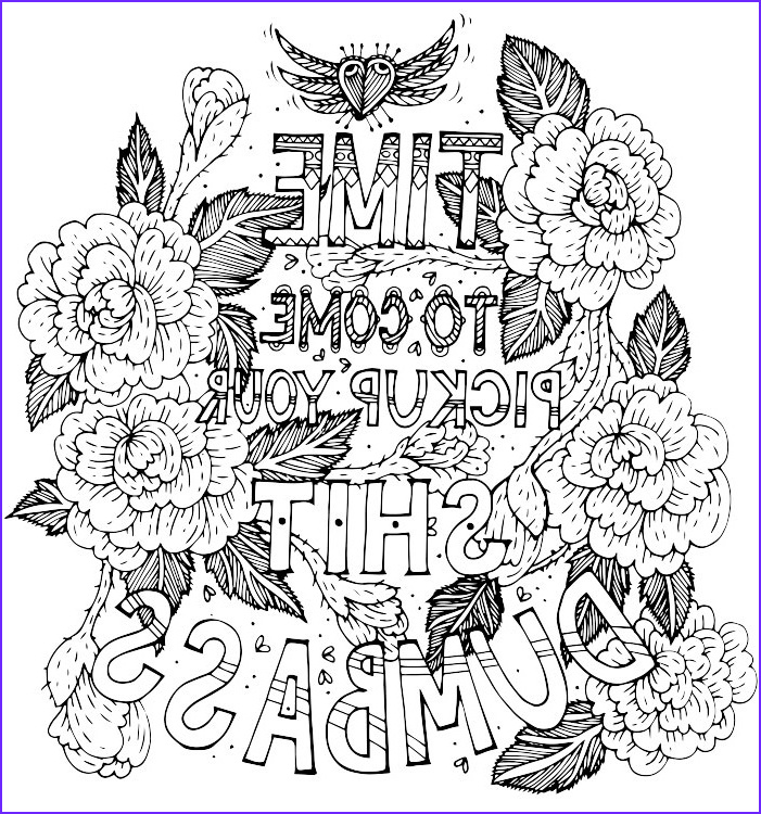 Swear Coloring Book Cool Gallery Best Swear Word Coloring Books A Giveaway Cleverpedia