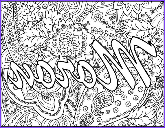 Swear Coloring Book Elegant Photography Moron Swear Words Coloring Page From the by Swearycoloringbook