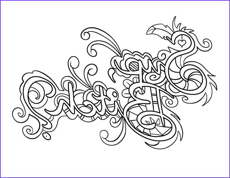 Swear Word Adult Coloring Page Elegant Photos Swear Words