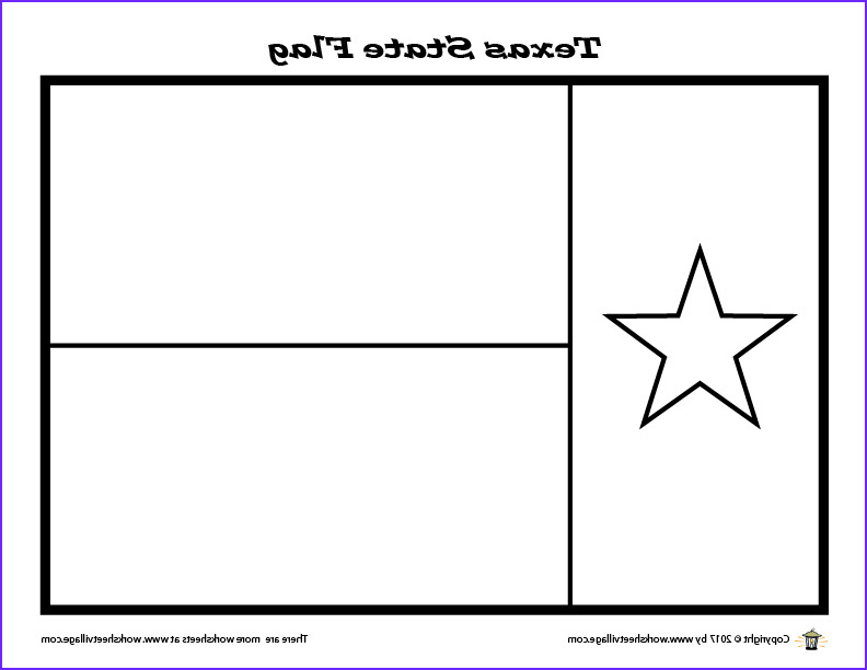 Texas Flag Coloring Page Awesome Photography Texas State Flag Coloring Page – Worksheet Village