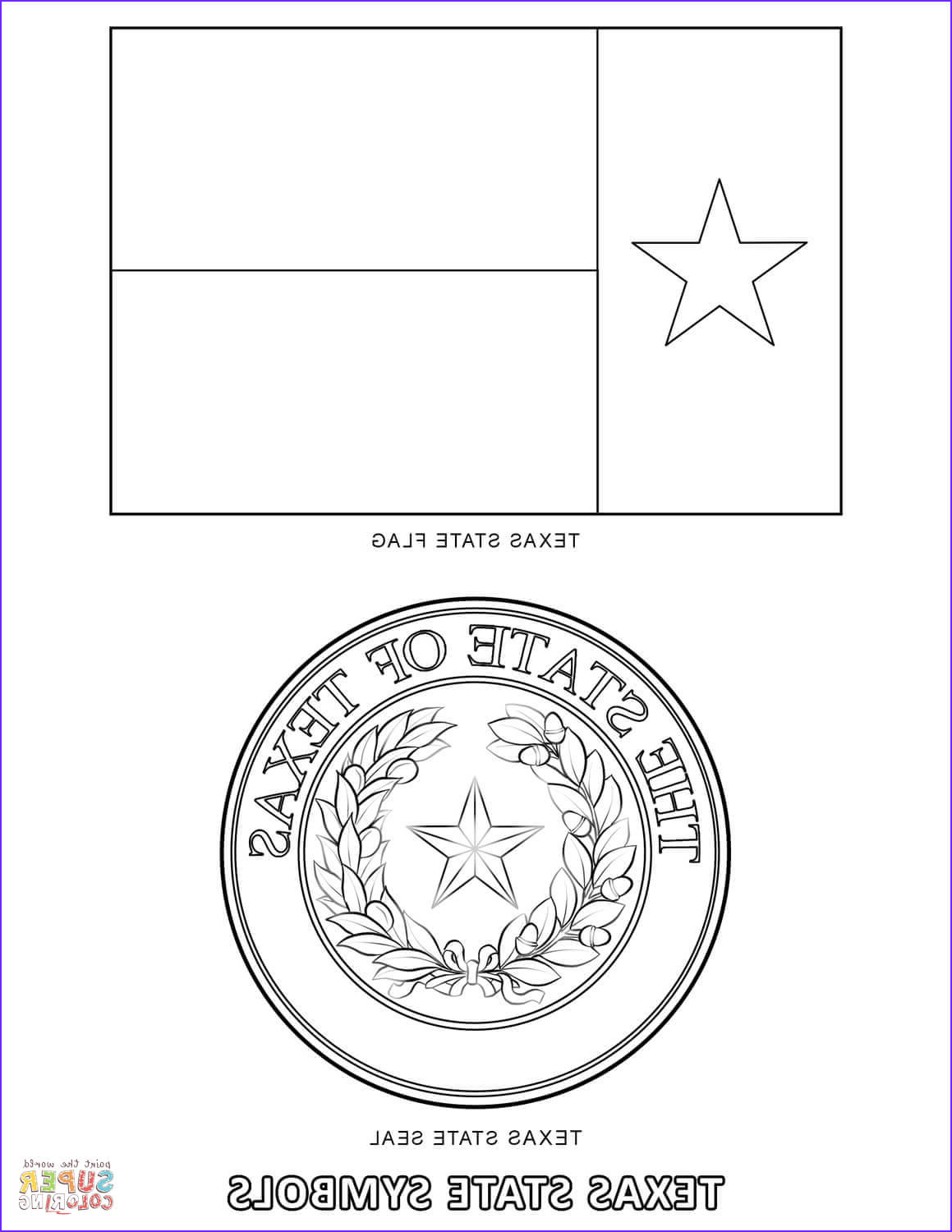Texas Flag Coloring Page Inspirational Images Texas State Symbols Coloring Page
