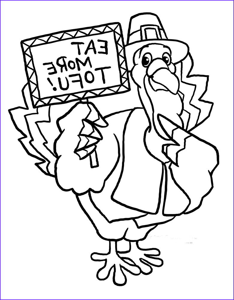 funny thanksgiving turkey coloring