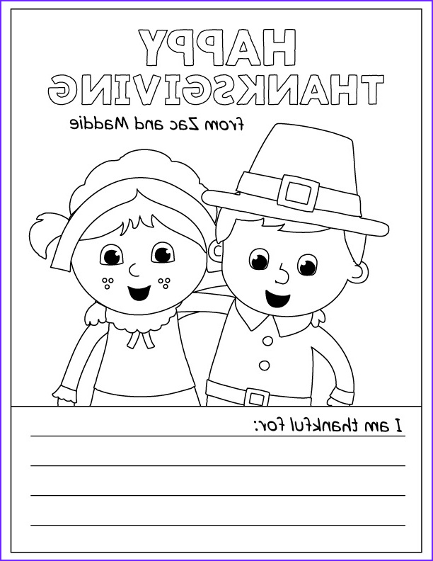 Thanksgiving Coloring Page for toddlers Awesome Collection Free Printable Thanksgiving Coloring Pages for Kids