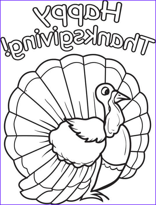 Thanksgiving Coloring Page for toddlers Beautiful Image Printable Happy Thanksgiving Coloring Pages Free Download