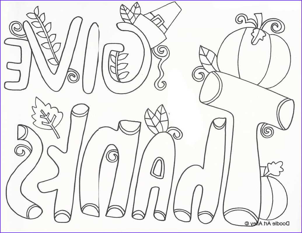 15 thanksgiving coloring pages for