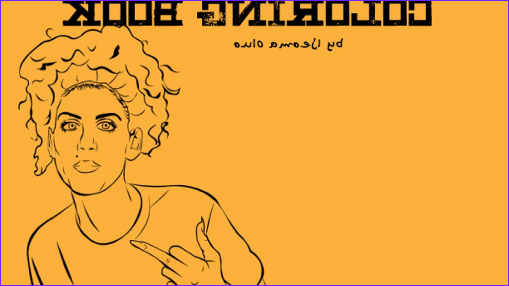 The Badass Feminist Coloring Book New Image Badass Feminist Coloring Book by Ijeoma Oluo —kickstarter