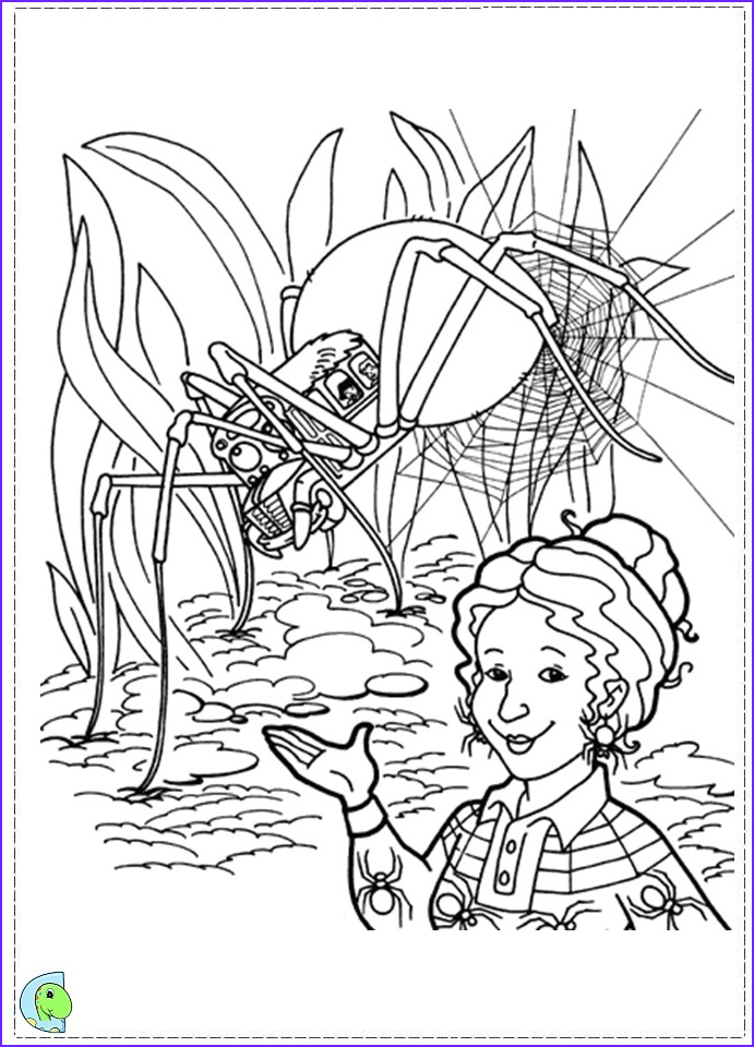 The Magic School Bus Coloring Page Cool Collection The Magic School Bus Coloring Page Dinokids