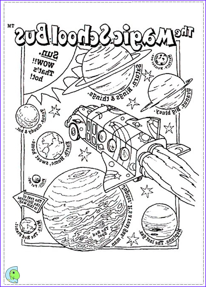 The Magic School Bus Coloring Page Luxury Gallery The Magic School Bus Coloring Page Dinokids