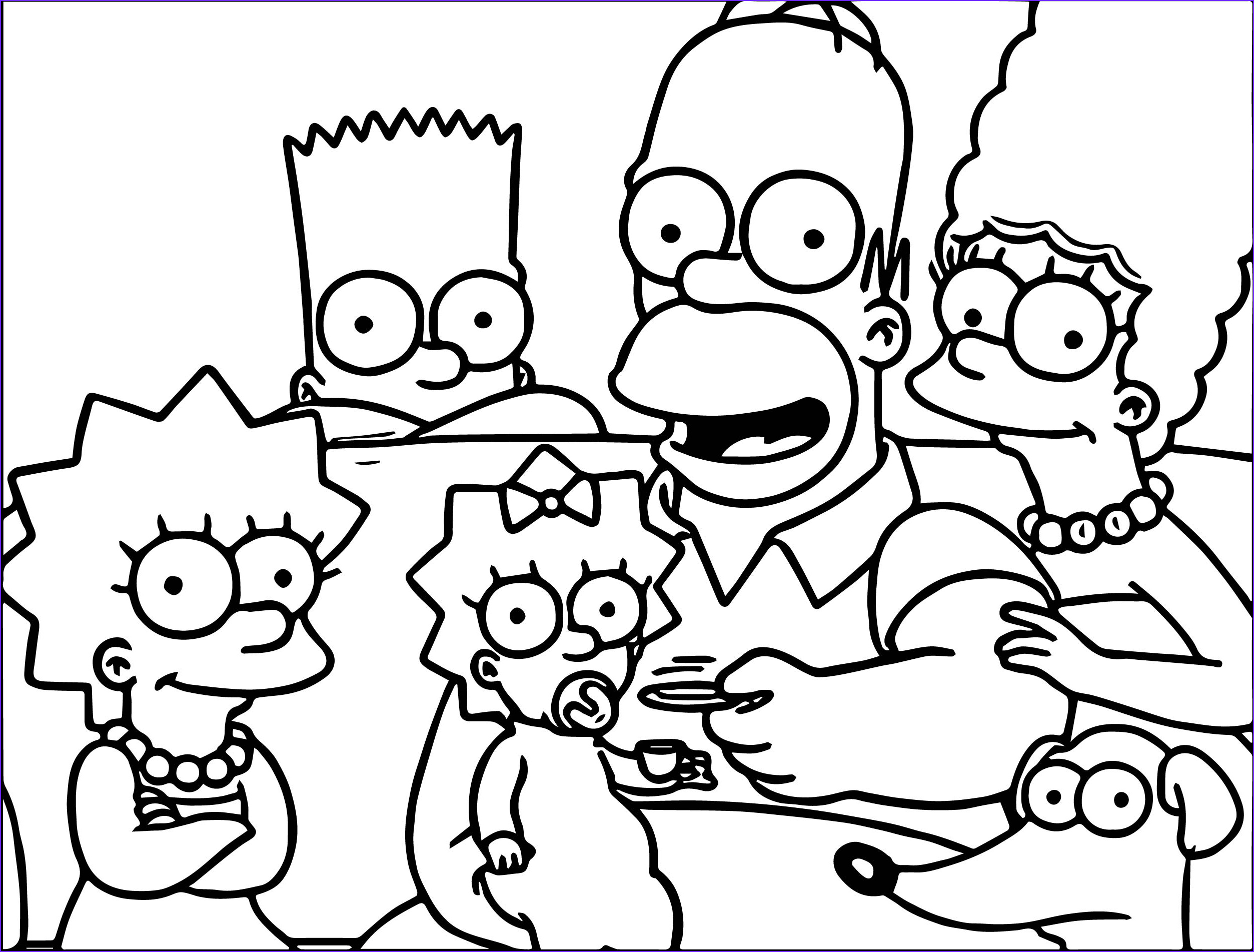 The Simpsons Coloring Page Beautiful Photography Simpsons Deal Coloring Page