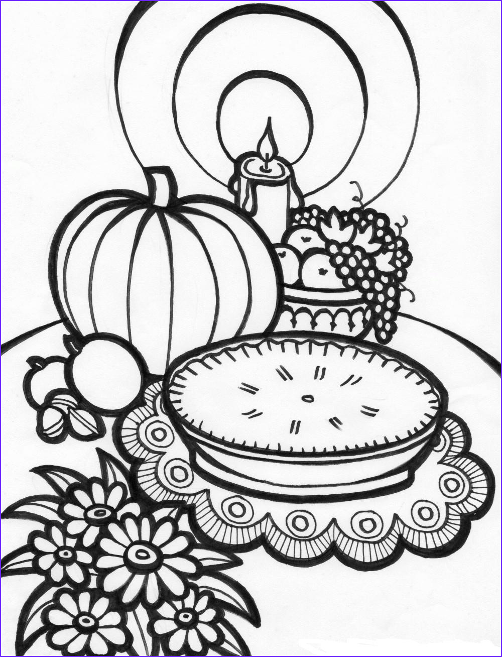 16 free thanksgiving coloring pages for toddlers kids