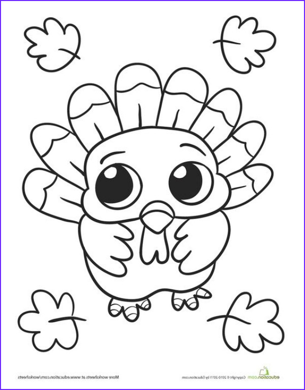 Turkey Coloring Book Elegant Photos 30 Thanksgiving Themed Coloring Pages To Add Some Fun To
