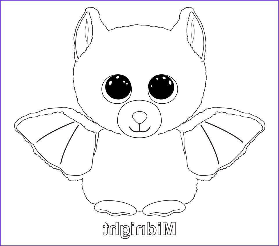 Ty Beanie Boo Coloring Page Elegant Collection Ty Beanie Boo Coloring Pages and Print for Free